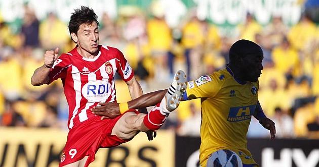 Gerard Bordas, en un partido con el Girona de la pasada temporada / Chema Rey (Marca)