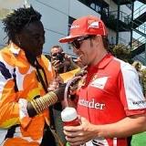 Fernando salva otra carrera sin agua