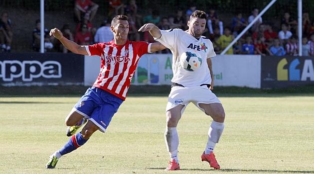 El Sporting derrota a la AFE con gol de Fraile