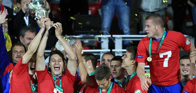Serbia logra su primer título europeo