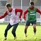 El Atlético ya se entrena en Uruguay