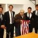 El presidente de Uruguay recibe al Atlético