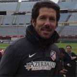 Simeone: Queremos que Villa entre en la idea que tenemos de él como jugador