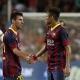 Messi y Neymar jugaron juntos por primera vez