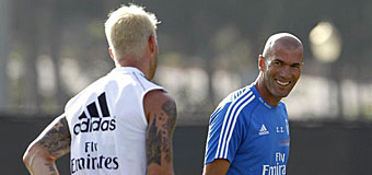 Zidane, jugador y entrenador