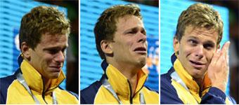 Lágrimas inconsolables de oro