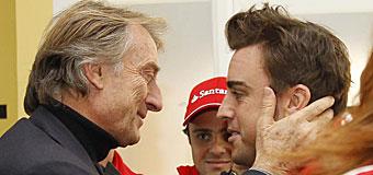 Montezemolo: Entiendo su enfado, pero algunas palabras de Alonso no me gustaron