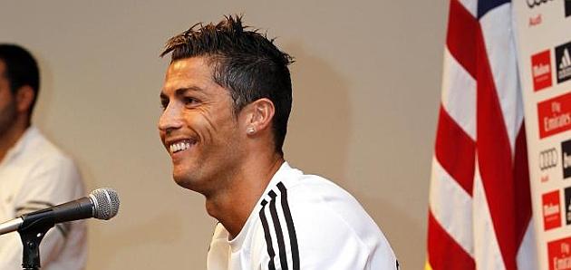 Cristiano Ronaldo, white for life