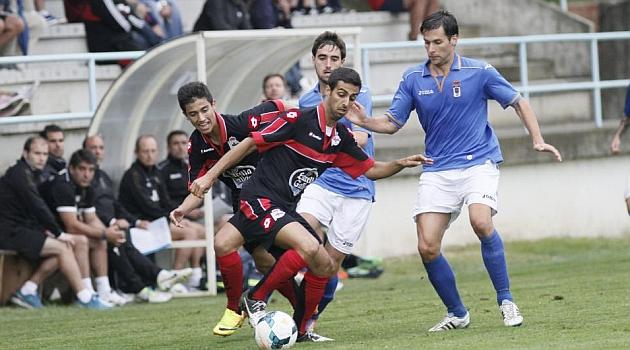 Romay da el triunfo al Deportivo contra el Oviedo en Ribadeo