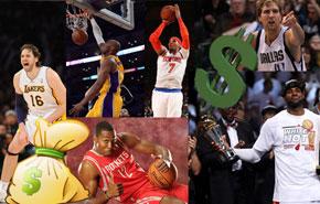El Top 10 de los mejores pagados