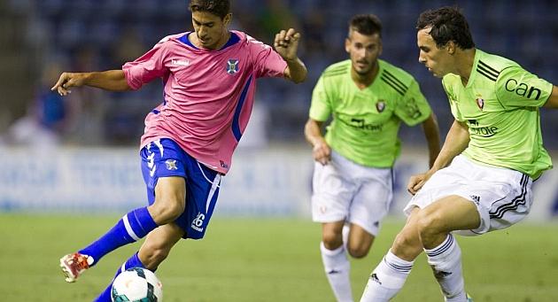 Ayoze, en el amistoso de pretemporada ante Osasuna / Santiago Ferrero (Marca)