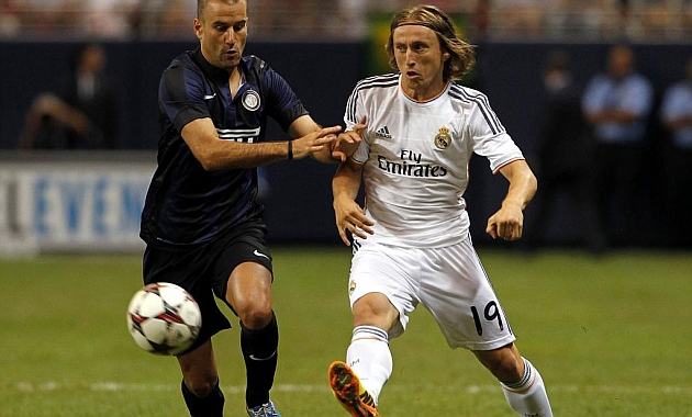 Modric in the driving seat