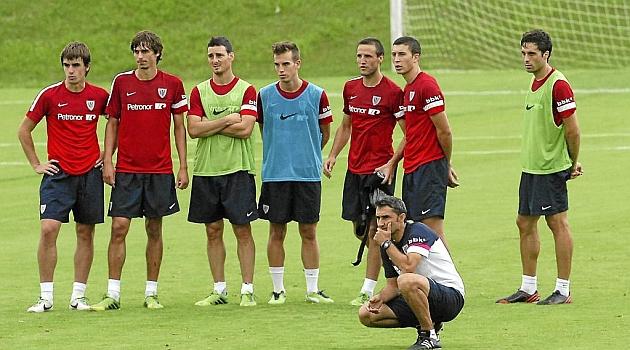 El Athletic entrena el miércoles en Anoeta