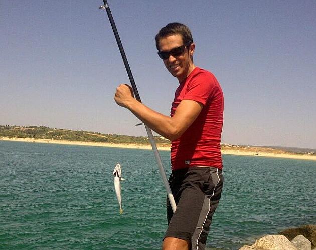 Contador se va de pesca