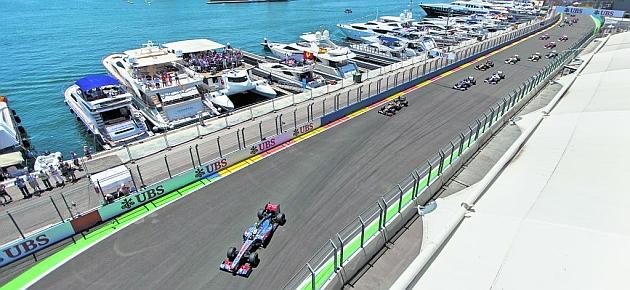Valencia condiciona la F1 a una rebaja sustancial del canon