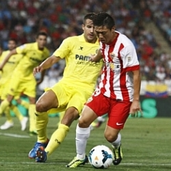 Las imágenes del Almería-Villarreal