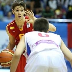 Así juega Xabi López, la última perla adolescente del baloncesto español