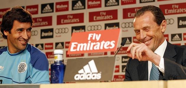 Butragueño: Raúl personifica los mejores valores del Real Madrid