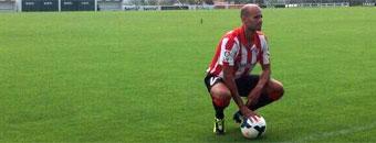 Mikel Rico: Todo vizcaíno que le guste el fútbol sueña con el Athletic