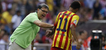 Neymar: Es malo no poder jugar con Messi