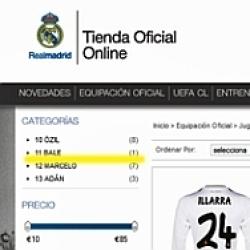 En la web del Real Madrid ya luce el '11' de Bale