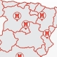 Sedes repartidas por toda España