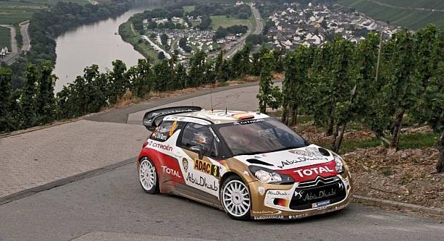 Sordo lidera el Rally de Alemania