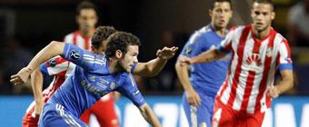 El Atlético pide al Chelsea la cesión de Mata