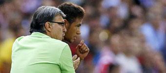 Martino y Neymar