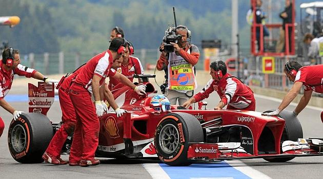 No todos son ricos en la F1