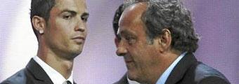 Cristiano y Platini