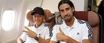 Özil y Khedira