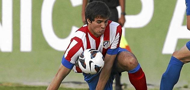 Cabrera, en un partido del Atlético esta pretemporada / RAFA CASAL (MARCA)