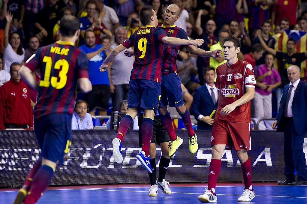 El Barcelona Alusport vence a El Pozo Murcia y gana la Supercopa ...