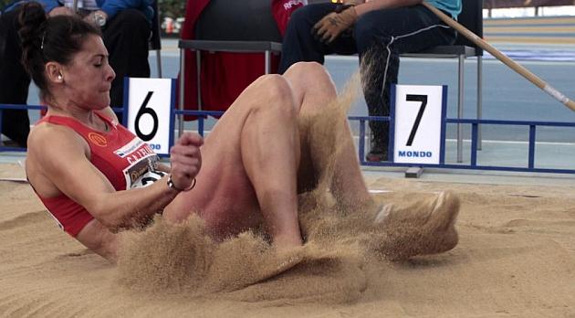 Concha Montaner, bronce mundial en longitud siete a�os despu�s