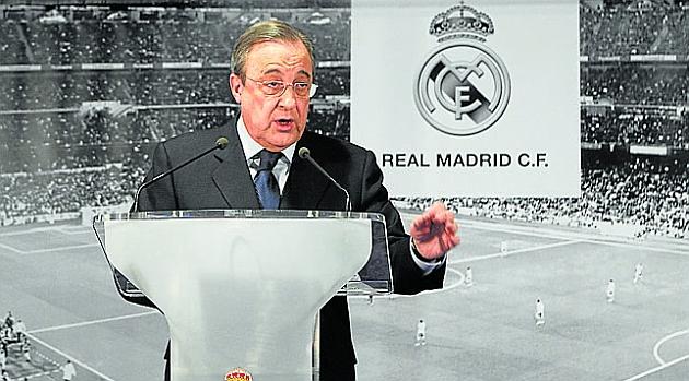 Florentino Pérez: We didn't need a loan to buy Bale