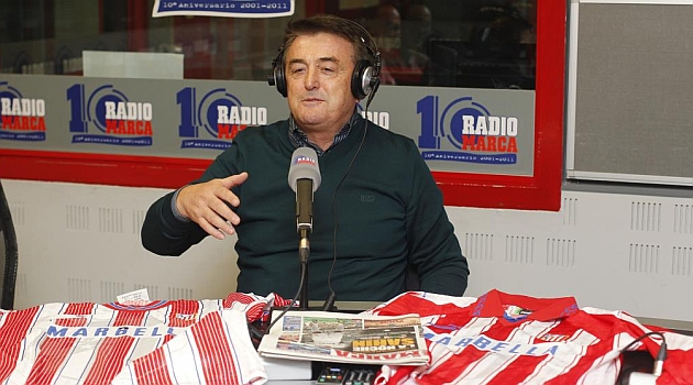 Antic, en una visita a Radio MARCA / PABLO GARCÍA (MARCA)