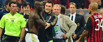 Balotelli, sancionado con tres partidos