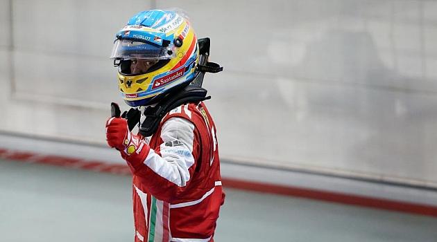 Alonso insin�a una extensi�n de contrato