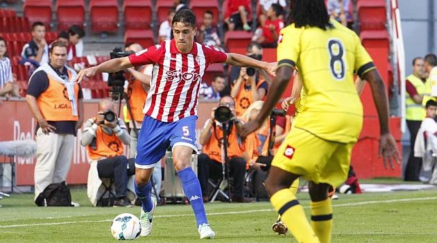 Bernardo, en el encuentro liguero ante el Deportivo / Tuero - Arias (Marca)