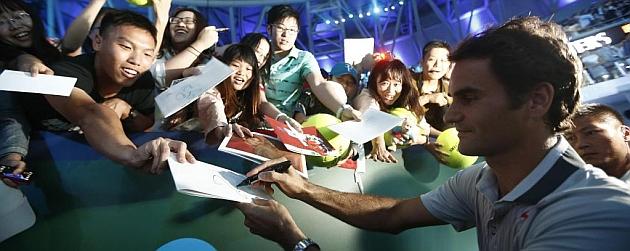 Federer: Estoy contento por Nadal