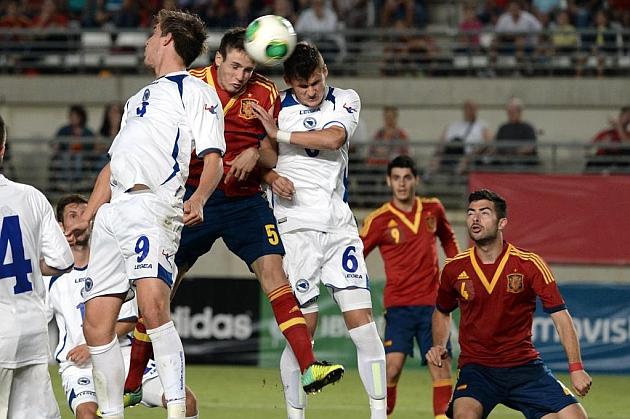 La Rojita sufre para ganar a Bosnia