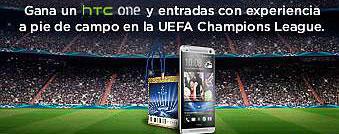 Conviértete en el fotógrafo HTC One del Real Madrid-Juventus