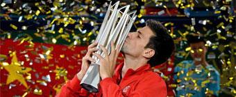 Djokovic mantiene su hegemonía en China