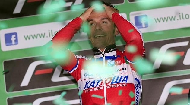 Triplete espa�ol en el UCI World Tour