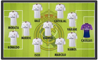 La afición elige su once con Casillas bfdf65ccabc3f