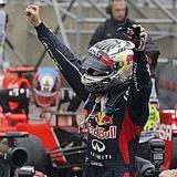 Sebastian Vettel, tricampe�n del mundo