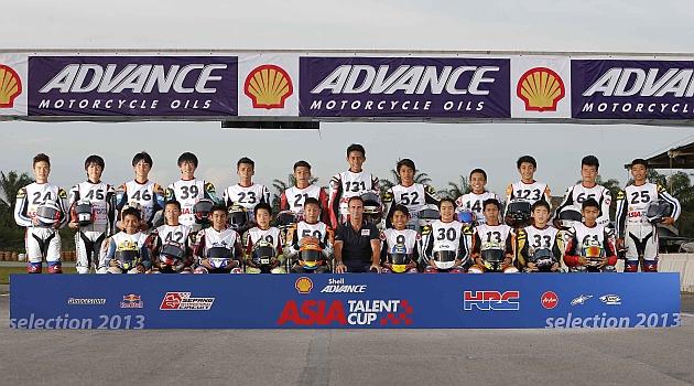 22 pilotos asi�ticos inician su sue�o de llegar a MotoGP