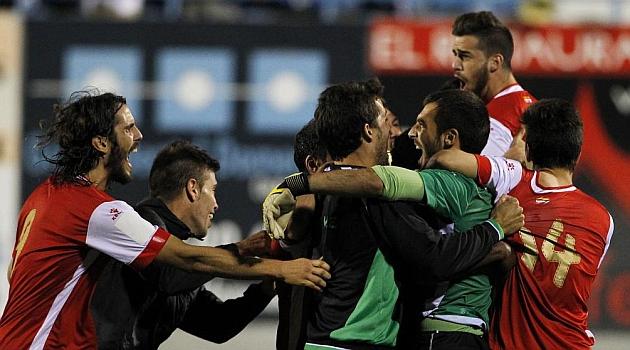 Cartagena, Olimpic, Algeciras, N�stic, Lleida y Racing optan al 'gordo' en la Copa del Rey