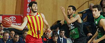 Abrines salva al Barcelona en Badalona ante un excelente Joventut